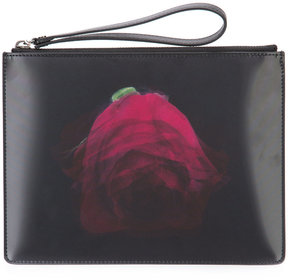 Christopher Kane lenticular rose clutch