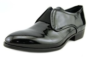 Roberto Cavalli Vernice Round Toe Leather Loafer.