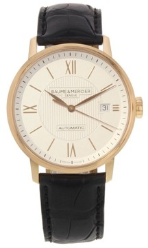 Baume & Mercier Classima MOA10037 18K Rose Gold Automatic 38mm Mens Watch