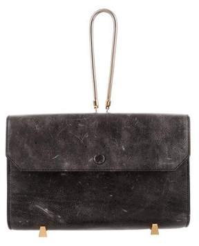 Alexander Wang Distress Chastity Clutch