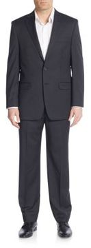 Lauren Ralph Lauren Regular-Fit Striped Wool Suit
