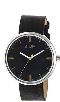 Simplify The 4500 Collection SIM4502 Silver Analog Watch