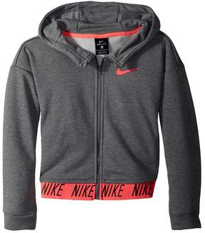Nike Dry Full-Zip Training Hoodie Girl's Sweatshirt