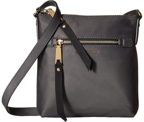 Marc Jacobs Trooper North/South Crossbody Cross Body Handbags - BLACK - STYLE