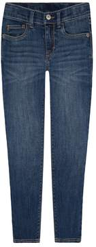 Levi's Levis Girls 4-6x 710 Super Skinny Fit Embroidered Jeans