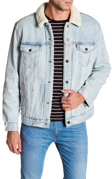 Levi's Type 3 Faux Shearling Lined Brothers Trucker Jacket