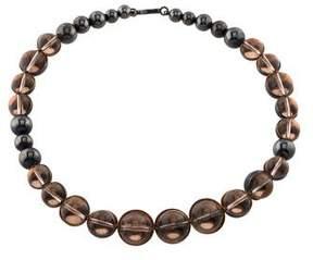 Bottega Veneta Glass Bead Collar