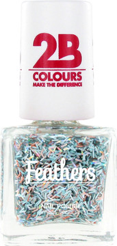 2B Colours Feathers Nail Polish
