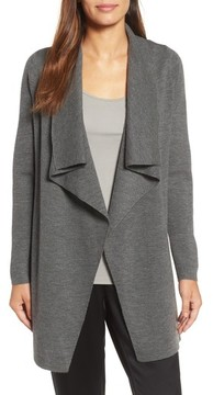 Eileen Fisher Women's Long Angle Front Cardigan