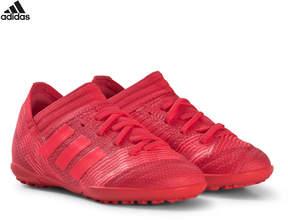 adidas Red and Black Nemeziz Tango 17.3 Turf Football Boots