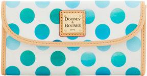 Dooney & Bourke Dots Continental Clutch - PINK - STYLE