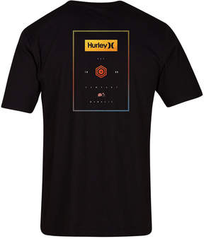 Hurley Men's Stack Boxes Graphic T-Shirt