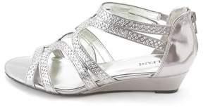 Alfani Womens Gypsie Fabric Open Toe Formal Wedged Sandals.