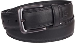 Columbia Men's Feather-Edge Stretch Leather Belt