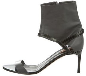 Reed Krakoff Leather Colorblock Sandals