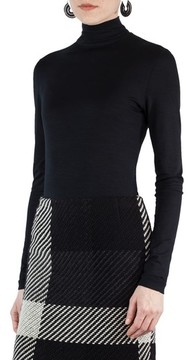 Akris Punto Women's Stretch Jersey Turtleneck