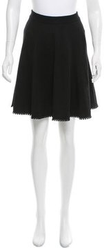 Andrew Gn Wool Knee-Length Skirt w/ Tags