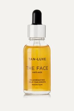 Tan-Luxe – The Face Anti-age Rejuvenating Self-tan Drops – Medium/dark, 30ml