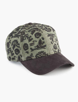 Lucky Brand FLORAL EMBROIDERED HAT