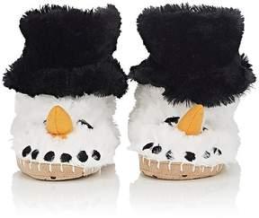 Hatley Snowman Slippers
