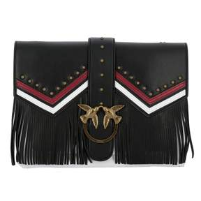 Pinko Crossbody Bags Love Bag In Leather With Chain Strap