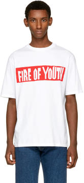 Loewe White Fire of Youth T-Shirt