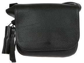 Max Mara Women's Black Leather Shoulder Bag.
