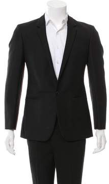 Calvin Klein Collection Wool Single-Button Blazer