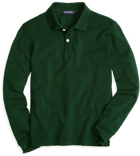 Brooks Brothers Long-Sleeve Polo Shirt