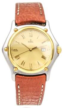 Ebel 1911 Stainless Steel and 18K Yellow Gold Quartz 33mm Unisex Watch