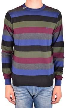 Sun 68 Men's Mcbi286175o Multicolor Wool Sweater.