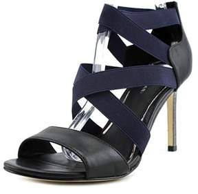 Elie Tahari Sabrina Open Toe Leather Sandals.