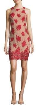 Dress the Population Jenna Floral Lace Mini Dress