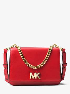 Michael Kors Mott Leather Crossbody - RED - STYLE