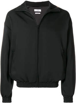 Cmmn Swdn side-stripe zipped jacket