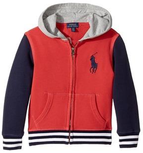 Polo Ralph Lauren Kids - Cotton French Terry Jacket Boy's Coat