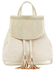 Sole Society Backpack with Tassel Detail - SukiShoulder