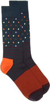 Happy Socks Men's Stripe Dots Men's's Crew Socks