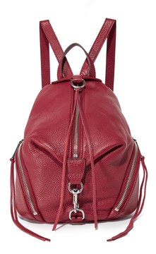 Rebecca Minkoff Medium Julian Backpack - BEET - STYLE