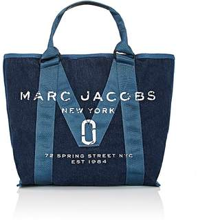 Marc Jacobs Women's Logo Tote Bag - BLUE - STYLE