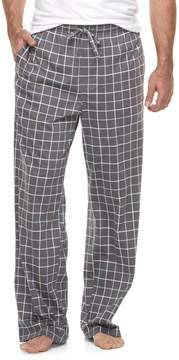 Croft & Barrow Big & Tall Plaid Lounge Pants