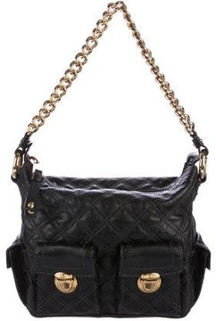 Marc Jacobs Quilted Blake Hobo - BLACK - STYLE