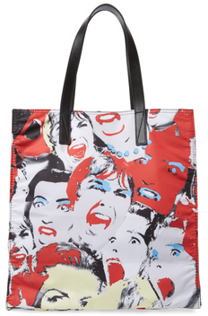 Marc Jacobs Byot Scream Queen NS Tote Bag - SCREAM QUEEN PRINT - STYLE