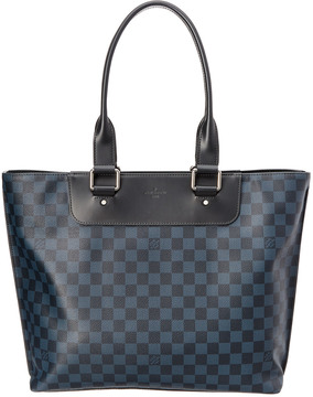 Louis Vuitton Colbalt Damier Canvas Cabas Voyage