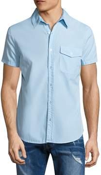 Save Khaki Men's Poplin Work Cotton Sportshirt