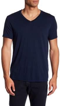 Save Khaki Short Sleeve V-Neck Tee