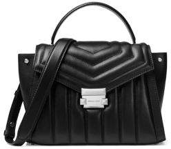 MICHAEL Michael Kors Medium Whitney Leather Quilted Satchel