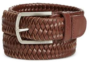 Tommy Hilfiger Mens Stretch Braided Belt