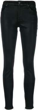 7 For All Mankind sheen skinny jeans