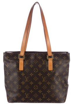 Louis Vuitton Monogram Cabas Piano Tote - BROWN - STYLE